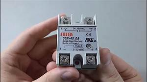 Ebay Fotek Ssr-40 Unboxing  Wiring  And Review  Solid State Relay