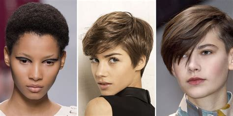 tres agreable coiffure cheveux courts femme  coupes de