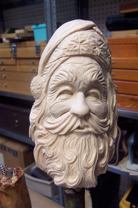 pin  millard harrell  santa faces pinterest wood