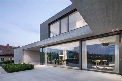 Einfamilienhaus  Wohnen Mit Weitblick  Modern Terrasse