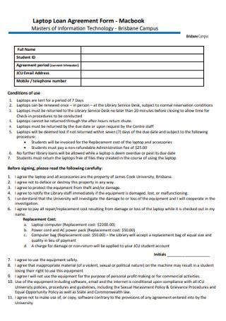 sample loan agreements   ms word excel