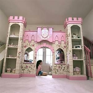 Wunderschne Inspiration Kinderbett Mdchen Schloss Und