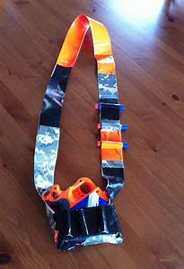 Nerf Gun Holster Made From Duct Tape  These Instructions