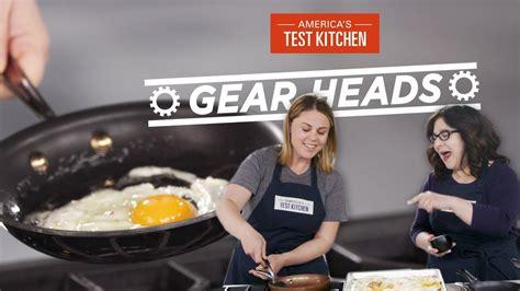 test kitchen nonstick america skillets cookware heads gear equipment skillet frying