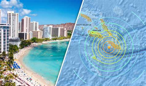 solomon islands tsunami warning issued   south