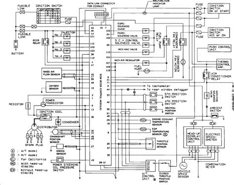 240sx s13 ka24de ecu pinout and wire locations nico club