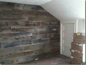 34 best wood on walls images on pinterest With barn board interior walls