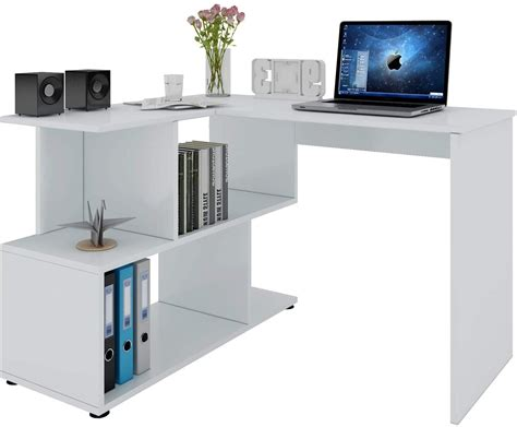 Browse from a range of uniquely designed and durable desks for any kind of home office setting. WOLTU Computer Office Desk Wood L Shaped Corner Desk With ...