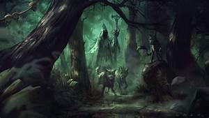 Fantasy Artork Witch Wizard Sorcerer Magic Evil Wallpaper ...