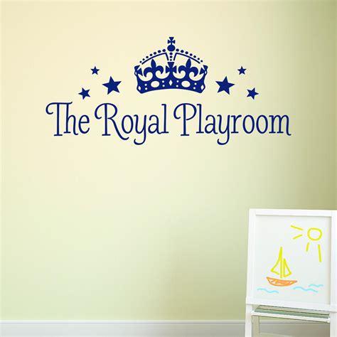 royal playroom wall quotes decal wallquotescom