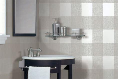moisture proof wallpaper  bathrooms beautify  bathroom  elegant  interior