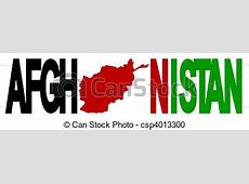 Illustration de Afghanistan, carte, drapeau Afghanistan