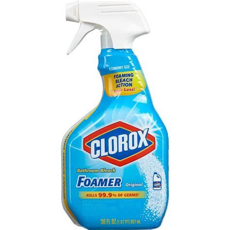 Clorox Disinfecting Bathroom Cleaner 30 Oz by Clorox 30 Oz Foamer For Bathroom 9 30614