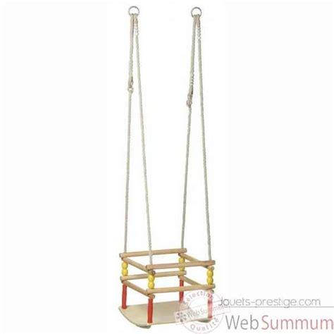 siege balancoire balançoire bébé siège bois incurvée 1503 de toys de jouet plein air