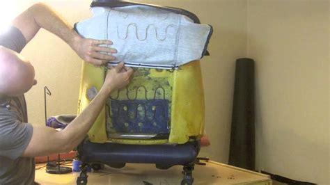 Diy Car Upholstery Repair by Easy Diy Car Seat Upholstery Sewing Repair