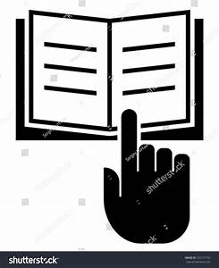 Read Manual Icon Stock Vector Illustration 165737150