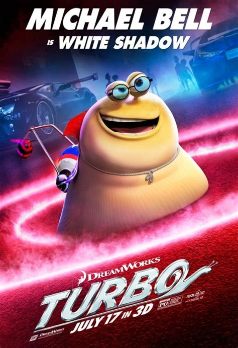 Turbo Character Posters : Teaser Trailer