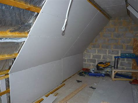 plasterboard plastering gallery loft conversion cardiff