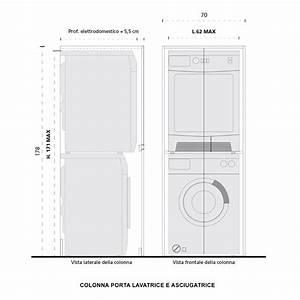 Waschmaschine Plus Trockner : blizzard hochschrank f r waschmaschine und trockner ~ Michelbontemps.com Haus und Dekorationen