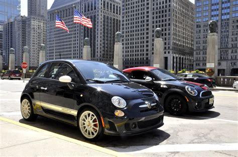 Mini Vs Fiat 500 by Mf Review Fiat 500 Abarth Vs Mini Jcw Coupe Motoringfile