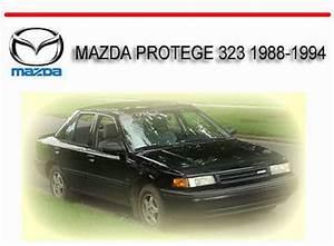 Mazda Protege 323 1988-1994 Workshop Service Repair Manual