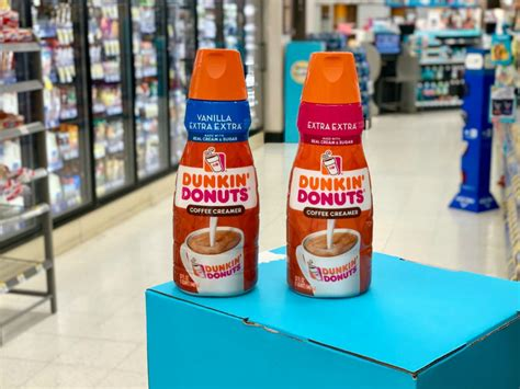 There are 40 calories in 1 tbsp (15 oz) of dunkin' donuts extra extra coffee creamer. Dunkin Donuts Coffee Creamer 32oz Bottles Only $2 Each After Cash Back at Walgreens - Hip2Save