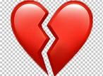 Emoji Broken Heart Symbol PNG, Clipart, Break, Broken ...