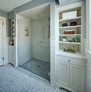 Classic white master bath - Traditional - Bathroom
