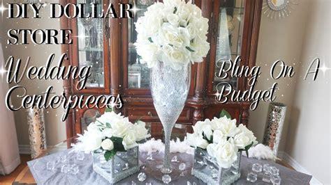 diy wedding centerpiece a budget simple diy wedding decor diy dollar store centerpiece