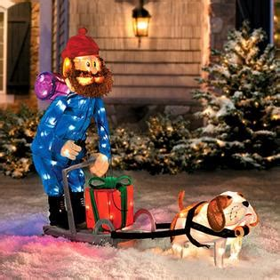 Rudolph Outdoor Decorations - product works rudolph misfit island prospector yukon