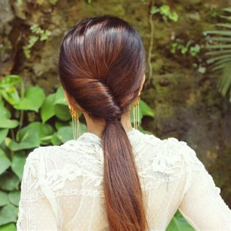 unique topsy tail hairstyles    beautiful