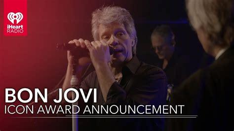 Bon Jovi Icon Award Announcement Iheartradio Icons With