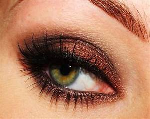 Pretty eye makeup for green/hazel eyes | My Style | Pinterest