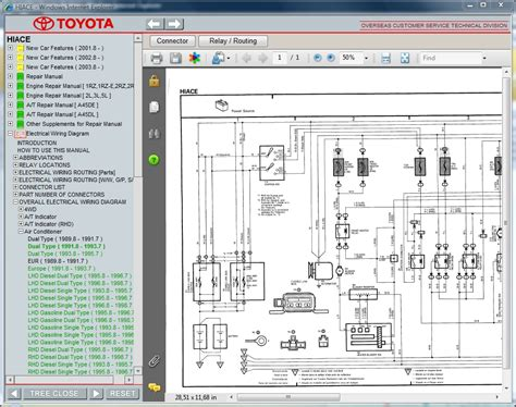 Wiring Diagrams For Toyota Hiace