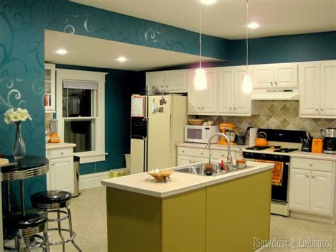 kitchen   longer teal reality daydream