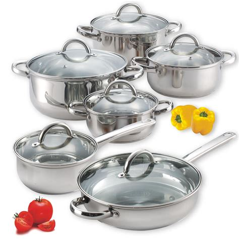stainless steel cook cookware piece