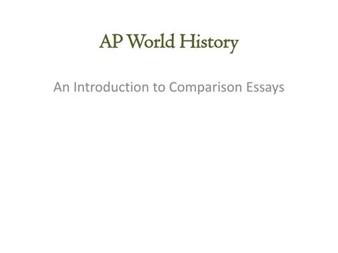 Ppt  Ap World History Powerpoint Presentation Id7043819