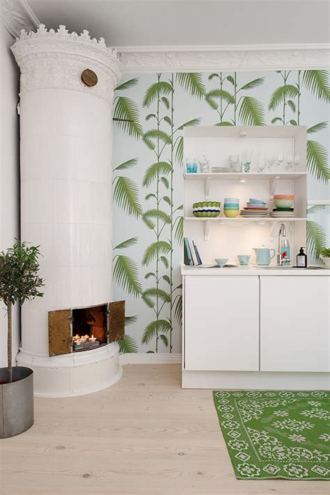 cute  square meter apartment  sweden interiorholiccom