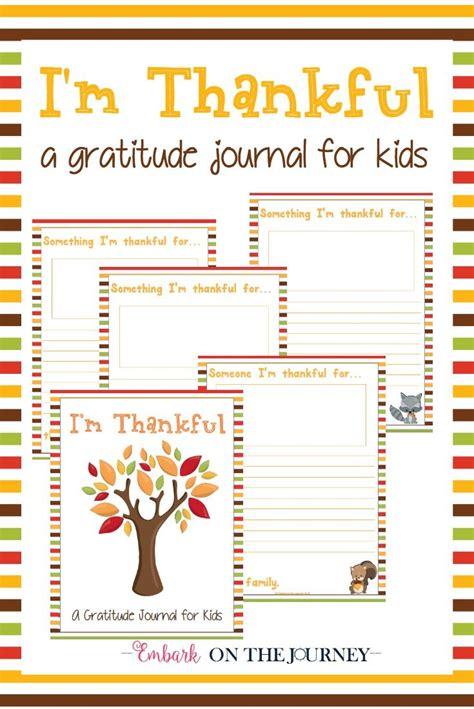 im thankful  gratitude journal  kids kids journal