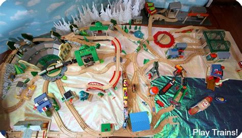 the tidmouth shed layout s day in vicarstown book review and wooden