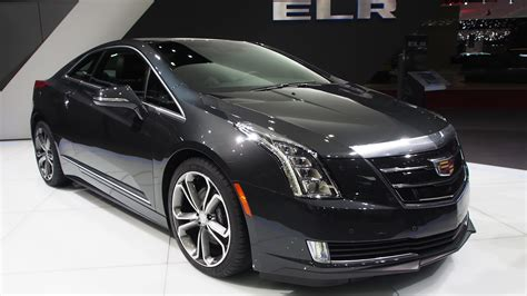2018 Cadillac Elr Electric Hybrid Coupe Exterior