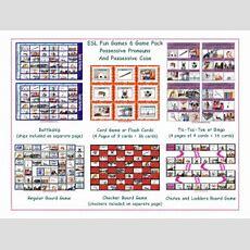 Possessive Pronouns & Possessives Board Game Bundle By Eslfungames  Teaching Resources Tes