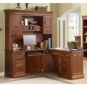 goldel oak by whalen augusta computer return desk for