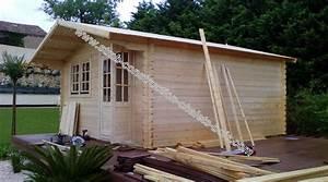 Chalet Bois Kit : cchalet de jardin pas cher stmb construction chalets ~ Carolinahurricanesstore.com Idées de Décoration