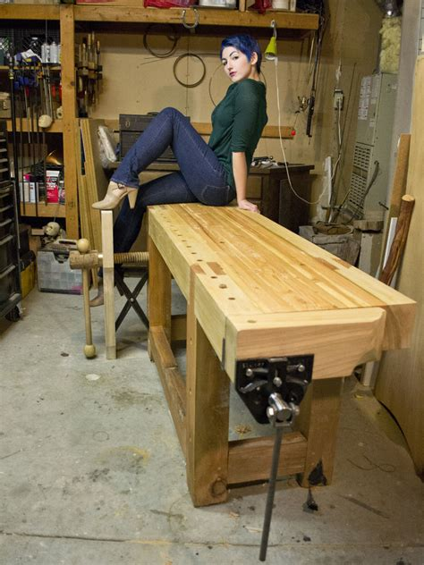 large workbench plans plans diy   building