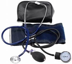 Manual Aneroid Sphygmomanometer Blood Pressure Monitor