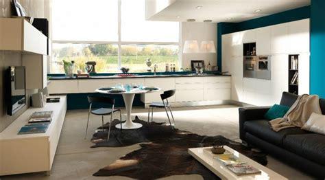 photo salon cuisine ouverte cuisine ouverte sur salon une solution pour tous les espaces
