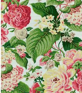 Home Decor Print FabricWaverly Floral Flourish Spring