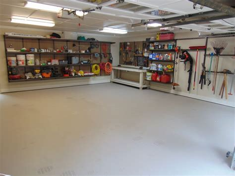 This Customer's 2 Car Garage Needed A Makeover. He