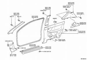 Corolla Door Parts  U0026 Toyota Corolla Door Handle Inside Sc